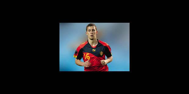 Hazard et Courtois titulaires contre la France