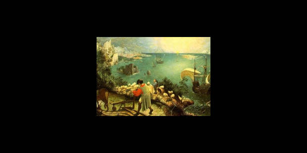 """""""La chute d'Icare"""" n'est pas un original de Bruegel - La Libre"""
