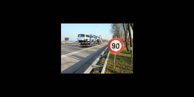Accélération de chantiers sur les routes wallonnes avant l'hiver - La Libre