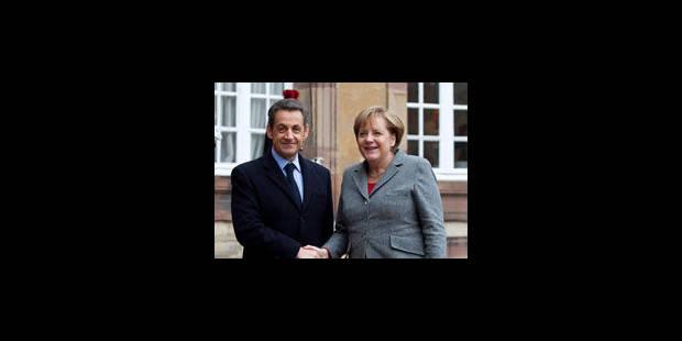 Merkel et Sarkozy pour un pacte de stabilité exclusif