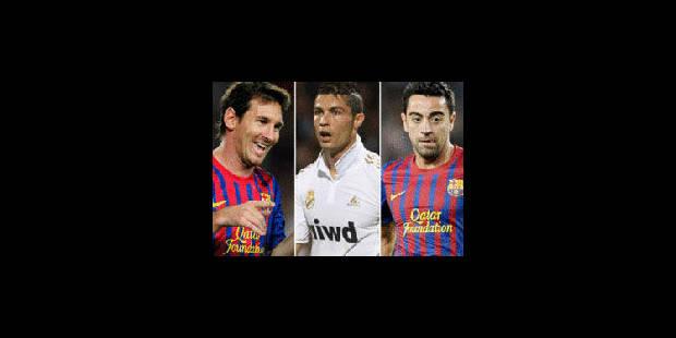 Ballon d'Or: Ronaldo, Messi et Xavi finalistes - La Libre
