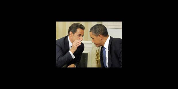 Sarkozy : bilan d'une présidence sous le signe de la com' - La Libre