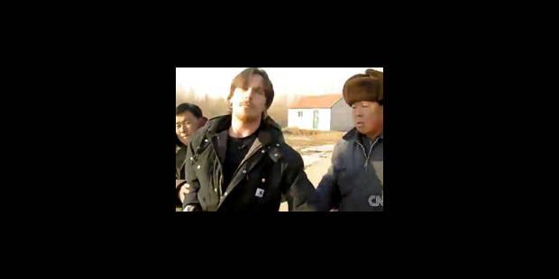 Christian Bale se frotte aux autorités chinoises - La Libre