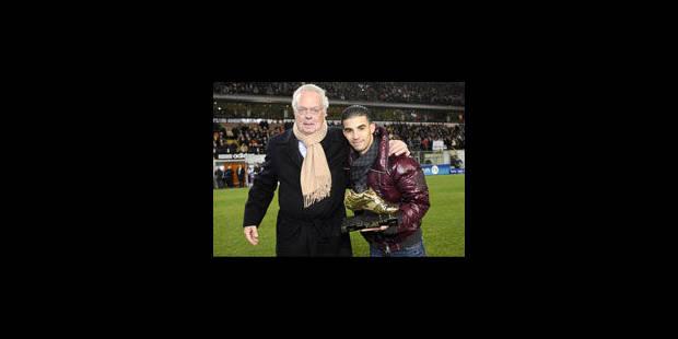 Mbark Boussoufa a enfin son soulier d'Or - La Libre