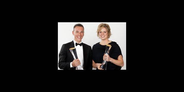 Gilbert et Clijsters désignés Sportif et Sportive de l'année