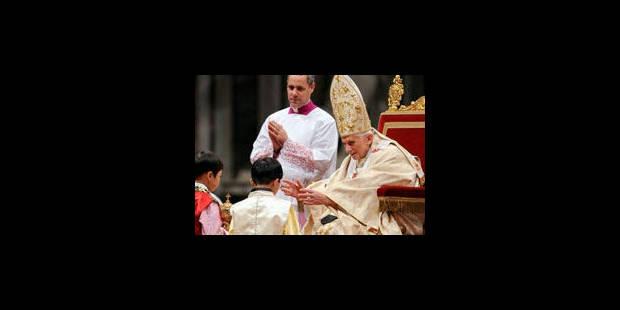 Benoît XVI appelle à retrouver l'humilité