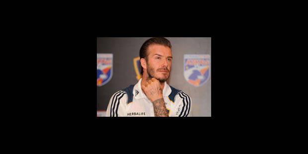 David Beckham ne viendra pas au Paris SG - La Libre