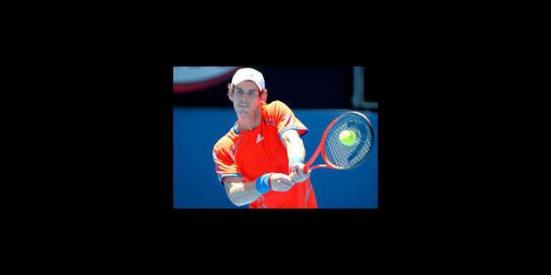 Open d'Australie: Andy Murray concède un set - La Libre