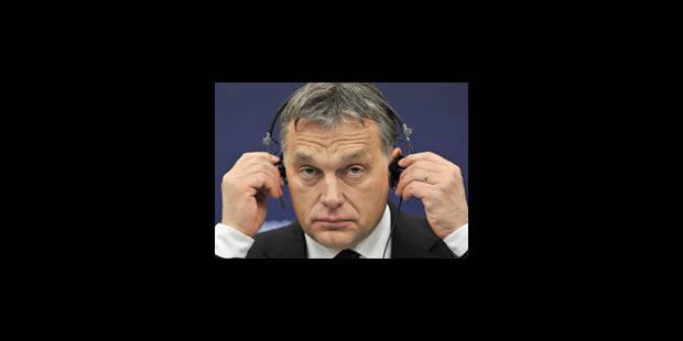 "Viktor Orban, ""ni dictateur, ni démocrate"" - La Libre"