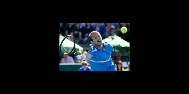 Olivier Rochus, 1er belge au classement ATP - La Libre