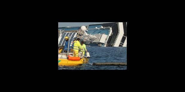 Costa Concordia : les chercheurs replongent - La Libre