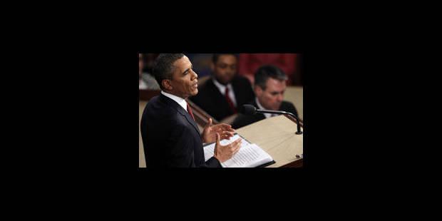 Combatif, Obama expose sa feuille de route pour un second mandat - La Libre