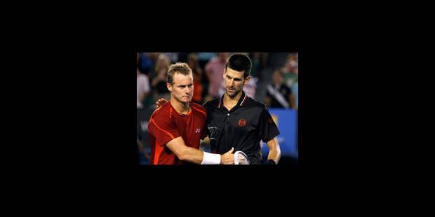 Djokovic souffre, un parterre de rois en quarts - La Libre