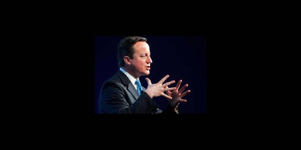 Cameron critique le projet de taxe financière - La Libre