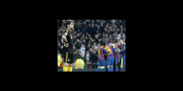 La Barça sort le Real dans la douleur - La Libre