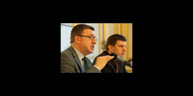Vanackere présente les mesures fiscales du gouvernement - La Libre