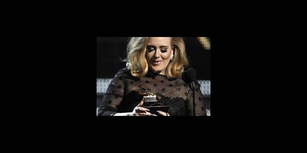 Razzia d'Adele sur les Grammy Awards - La Libre