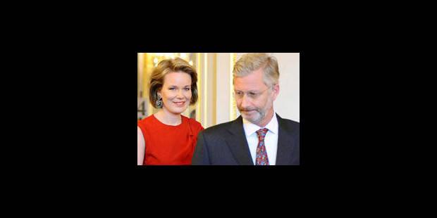 Le prince Philippe et son épouse en visite dans le Tournaisis - La Libre