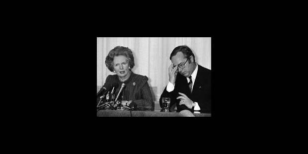 """""""Thatcher était femme dans un monde d'hommes"""" - La Libre"""
