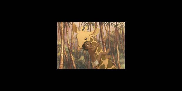L'enfant, la girafe et le roi