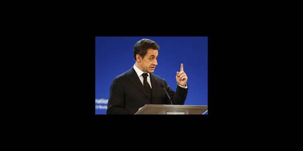 Nicolas Sarkozy: candidat au bilan économique mitigé - La Libre