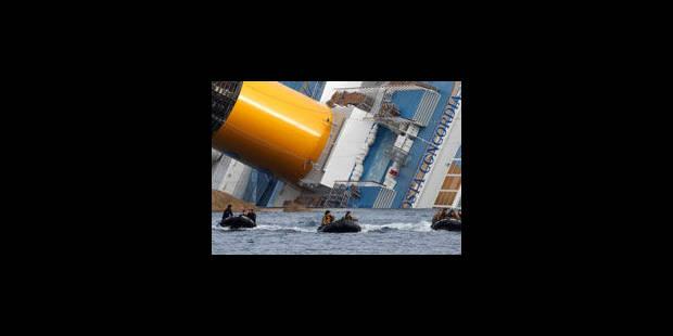 Naufrage du Concordia: 7 nouvelles personnes poursuivies - La Libre
