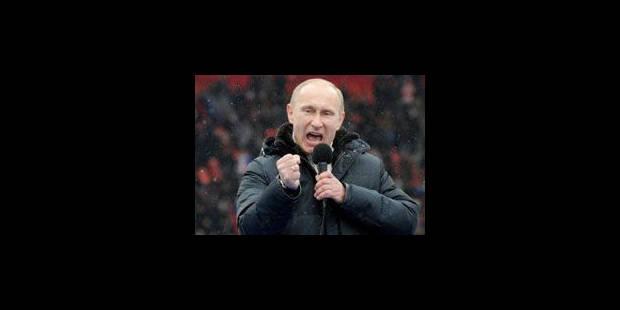 Russie: Poutine remporte sa présidentielle