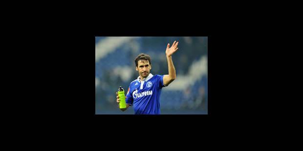 Le 400è but de Raul au musée du football allemand - La Libre