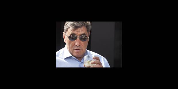 Eddy Merckx n'aurait jamais du être coureur professionnel