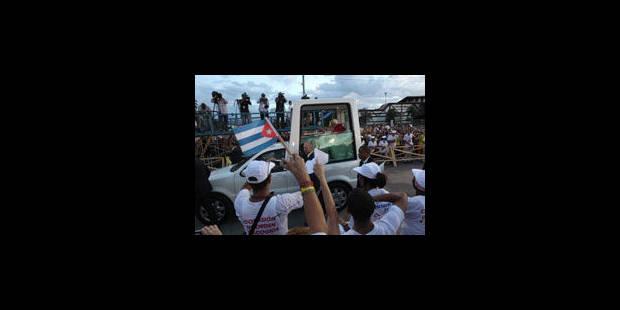 Le pape à Cuba : discrétion et mots pesés - La Libre
