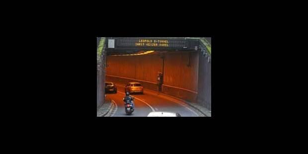 Rénovation du tunnel Léopold II - La Libre