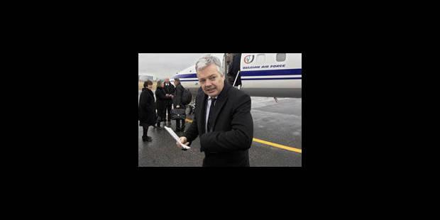 Reynders appelle les Belges à quitter le Mali - La Libre