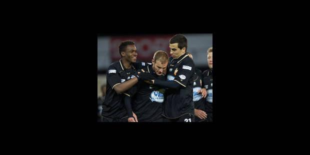 Mons s'impose en fin de match contre Zulte Waregem (0-2) - La Libre