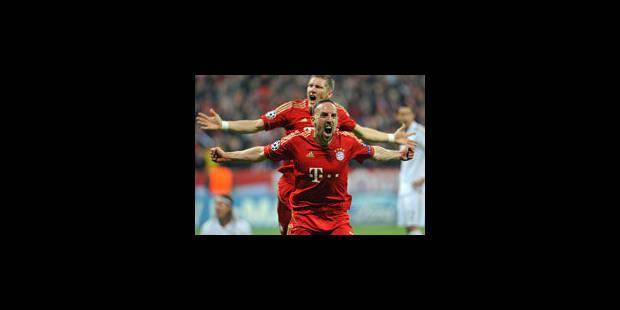 Le Bayern s'impose dans les derniers instants (2-1)