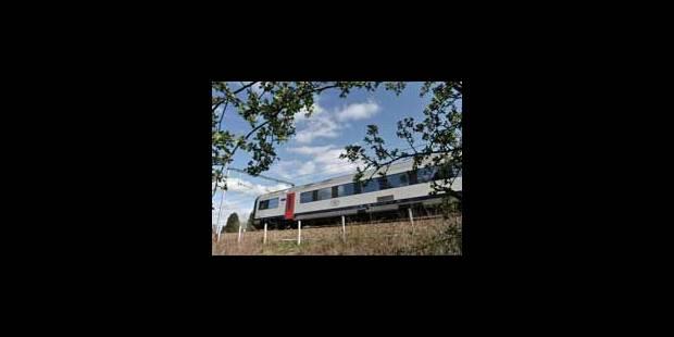 Un message scandaleux dans un train - La Libre