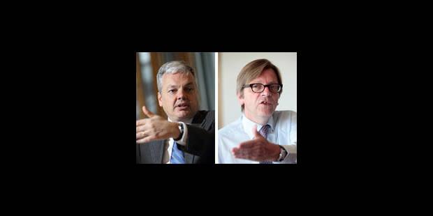 Tir libéral contre Verhofstadt - La Libre