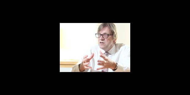 """Guy Verhofstadt : """"L'Europe fédérale est la seule issue"""" - La Libre"""