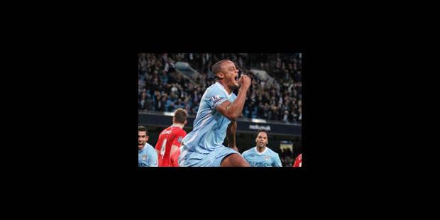 Vincent Kompany élu Joueur de la saison en Angleterre - La Libre