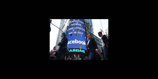 Facebook fait du yo-yo en Bourse - La Libre