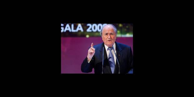 Blatter critique les tirs au but - La Libre