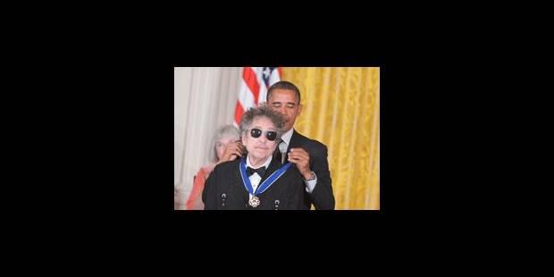 Barack Obama décore Bob Dylan et Toni Morrison - La Libre