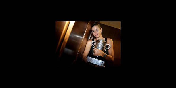 Sharapova félicitée par Poutine et Medvedev - La Libre