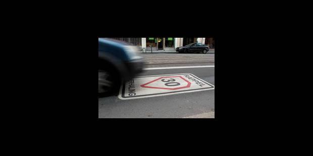 """""""Zéro pointé"""" pour la zone 30 - La Libre"""