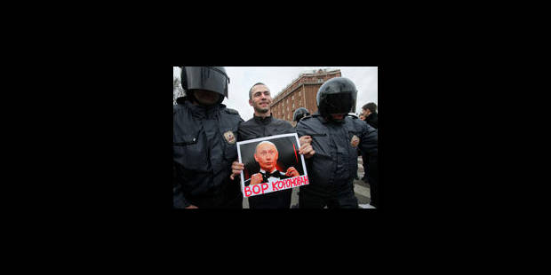 Russie: perquisitions chez des anti-Poutine - La Libre