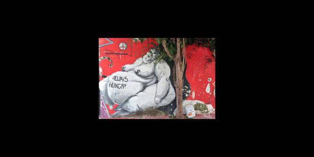 La crise inspire les murs d'Athènes - La Libre