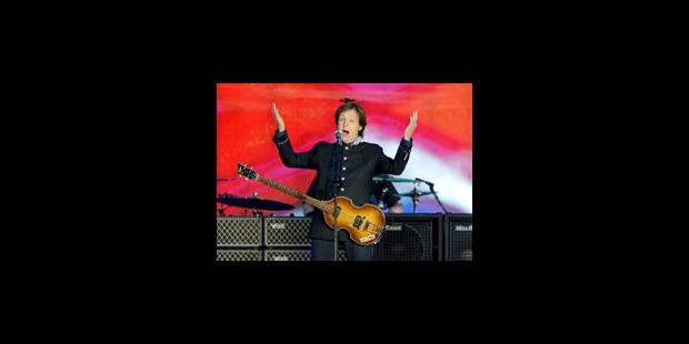 A 70 ans, Paul McCartney est partout - La Libre