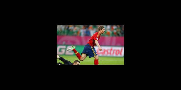 L'Espagne se donne de l'Eire (4-0) - La Libre