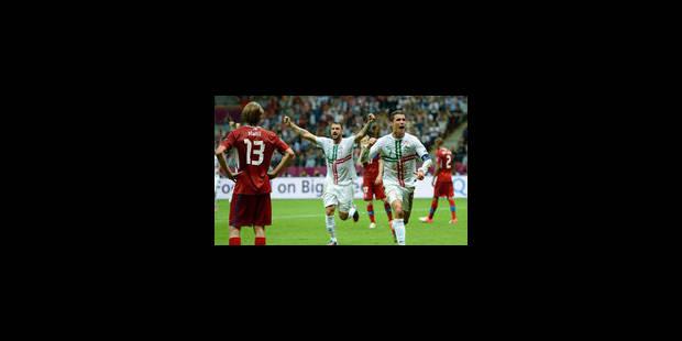Cristiano Ronaldo envoie le Portugal en demi