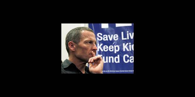 Armstrong soutenu par ses sponsors - La Libre