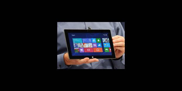"""Microsoft dévoile la tablette """"Surface"""" - La Libre"""